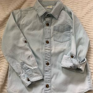 Crazy 8 Chambray Button Down